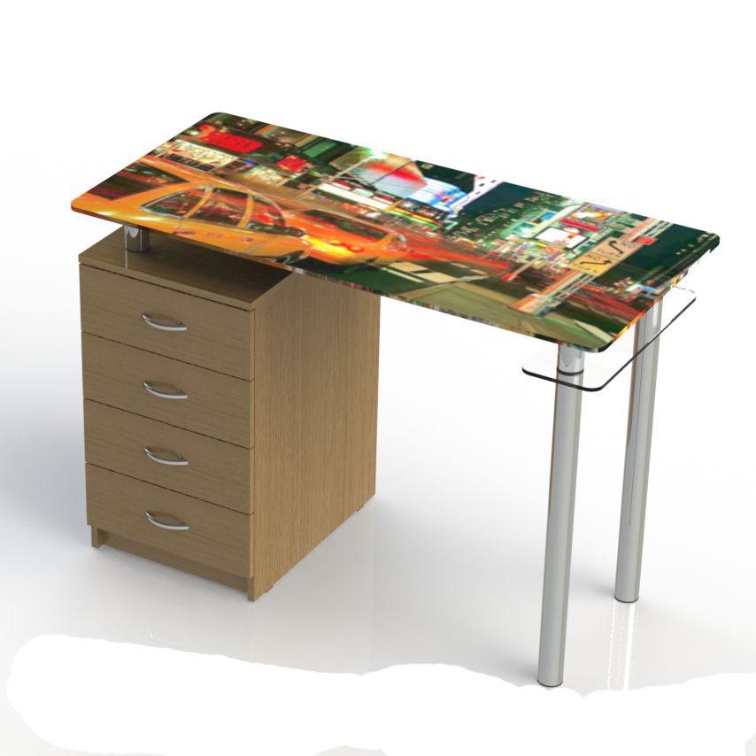 Письменный стол по индивидуальному проекту mk161.ru.